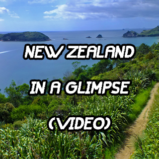New Zealand in a glimpse