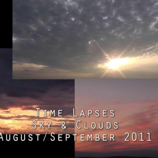 3 x Zeitraffer Himmel & Wolken | 3 x Time Lapse Sky & Clouds | September 2011